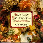 Victorian flowercrafts by Jane Newdick