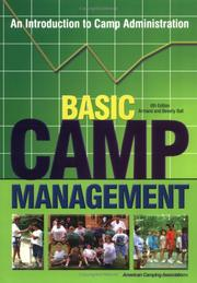 Basic camp management by Armand B. Ball