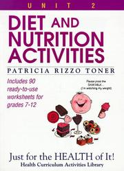 Diet and nutrition activities