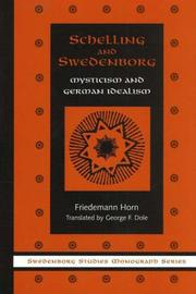 Schelling and Swedenborg by Friedemann Horn