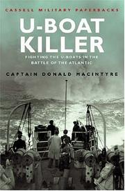 Cover of: U-Boat killer by Donald G. F. W. Macintyre