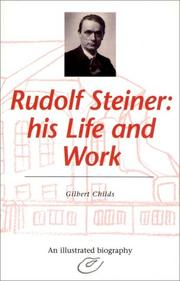 Rudolf Steiner by Gilbert Childs