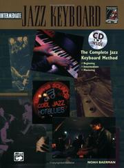 Jazz Intermediate Keyboard (Book & CD) (Complete Jazz Keyboard Method) PDF