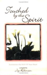 Touched By the Spirit PDF