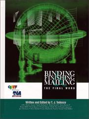 Binding, Finishing & Mailing PDF