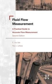 Fluid flow measurement by E. L. Upp