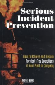 Serious incident prevention by Burns, Thomas