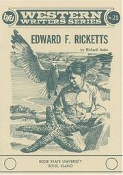 Edward F. Ricketts by Richard Astro