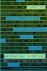 Cover of: Becoming virtual by Lévy, Pierre