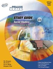 Social Studies by Educational Testing Service.