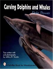 Carving dolphins and whales by Dale Power