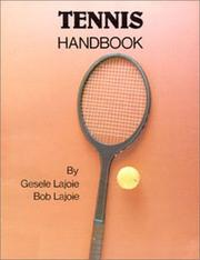 Tennis handbook by Gesele Lajoie