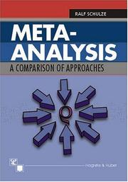 Meta-analysis by Ralf Schulze