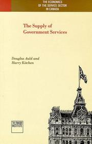 The supply of government services PDF