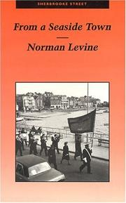 From a Seaside Town by Norman Levine