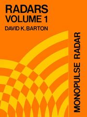 Monopulse Radar (Radars, Volume 1) PDF