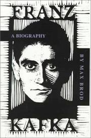 Franz Kafka by Brod, Max