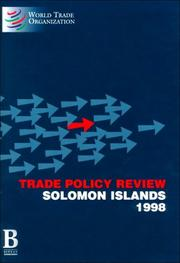 Trade policy review by World Trade Organization
