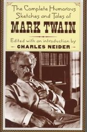 Short stories by Mark Twain