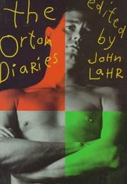 The Orton diaries by Orton, Joe.
