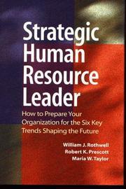 The strategic human resource leader PDF