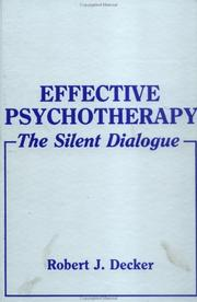 Effective psychotherapy PDF