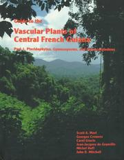 Guide to the Vascular Plants of Central French Guiana