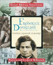 Frederick Douglass by Pat McKissack