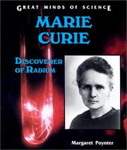 Marie Curie by Margaret Poynter