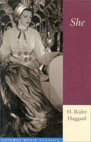 Cover of: She by H. Rider Haggard