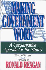 Making Government Work PDF