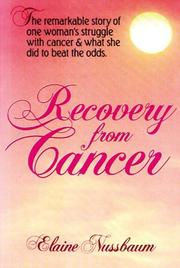 Recovery from cancer PDF
