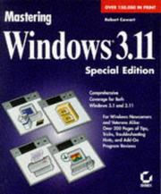 Mastering Windows 3.1 by Robert Cowart