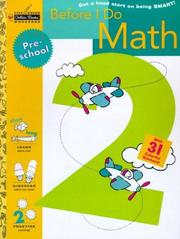 Before I Do Math (Preschool) (Step Ahead) PDF