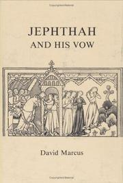 Jephthah and his vow by David Marcus