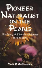 Pioneer naturalist on the plains PDF