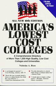 America's lowest cost colleges PDF