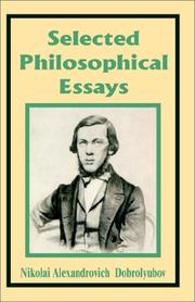 Selected Philosophical Essays PDF