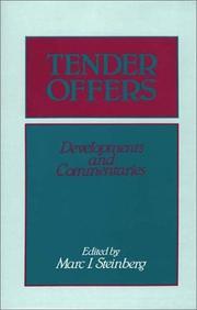 Tender Offers PDF