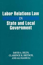 Labor relations law in state and local government PDF
