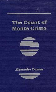 Cover of: Count of Monte Cristo by Alexandre Dumas