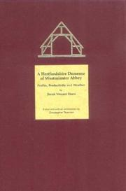 A Hertfordshire Demesne of Westminster Abbey by Derek Vincent Stern