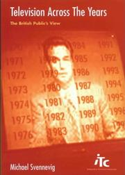 Television across the years PDF