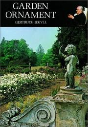 Garden ornament by Gertrude Jekyll