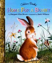 Cover of: Home for a Bunny by Margaret Wise Brown