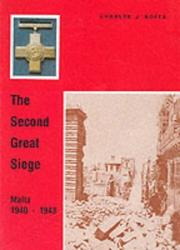 The second great siege by Charles J. Boffa