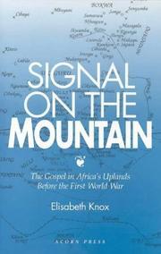 Signal on the mountain PDF