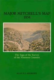 Major Mitchell's map, 1834 by Alan E. J. Andrews