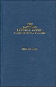 The Japanese Supreme Court by Hiroshi Itoh