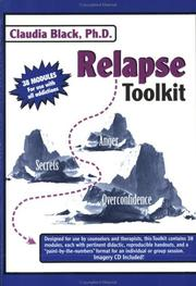Relapse Toolkit by Claudia Black